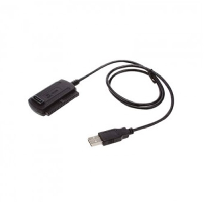 APPROX APPC08 USB 2.0 IDE SATA Adapter Fekete