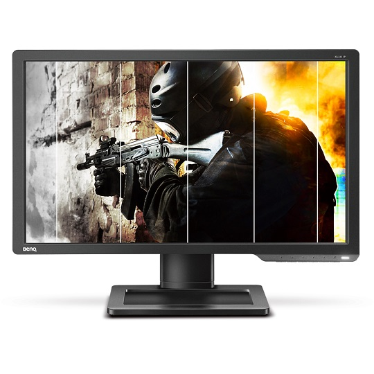 "BenQ ZOWIE monitor 24"" - XL2411P (TN, 16:9, 1920x1080, 1ms, DP, DVI-DL, HDMI) HAS, 144Hz - 3év garancia"