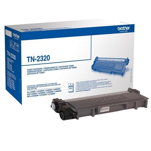 Brother TN-2320 eredeti Toner 2,6K