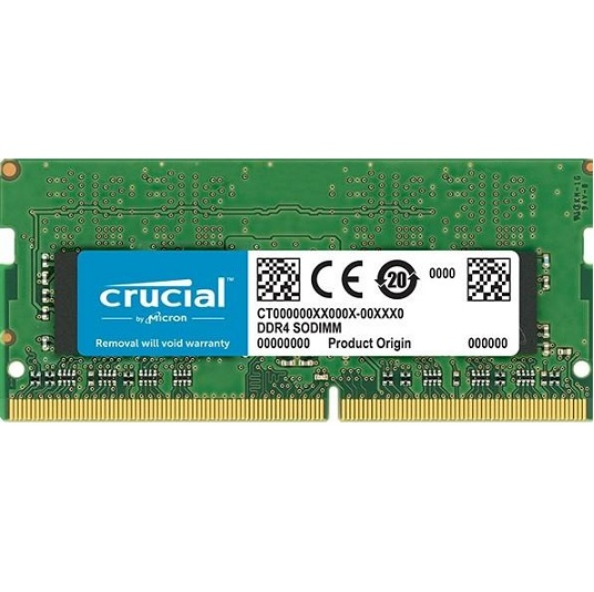 Crucial (Notebook) 4GB/2666Mhz DDR4 CT4G4SFS8266 - 3év garancia