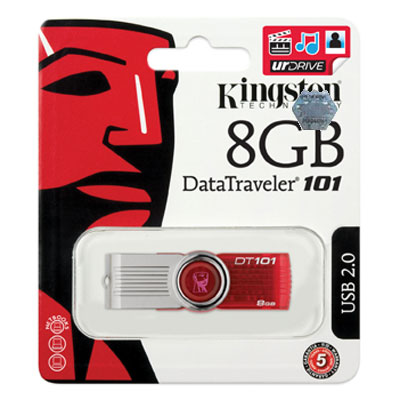 Kingston 8GB Pendrive DT 101 G2 - 5�v garancia