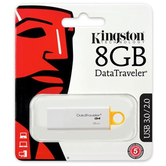 Kingston DT Gen4 8GB USB3.0 - 3év garancia