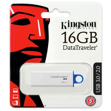 Kingston DT Gen4 16GB USB3.0 - 3év garancia