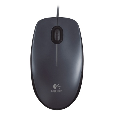 Logitech M90 Optical Dark Grey