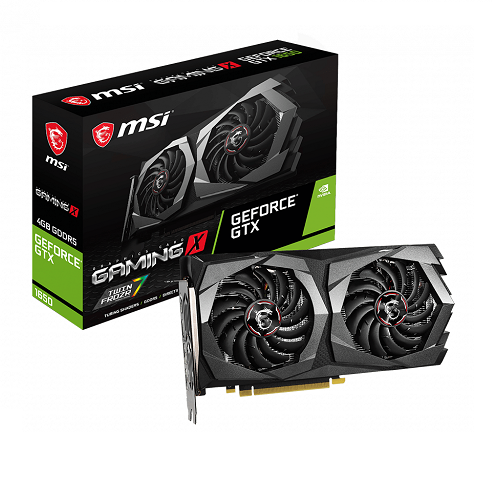 MSI GTX1650 4GB GDDR5 - GEFORCE GTX 1650 GAMING X 4G - 3év garancia