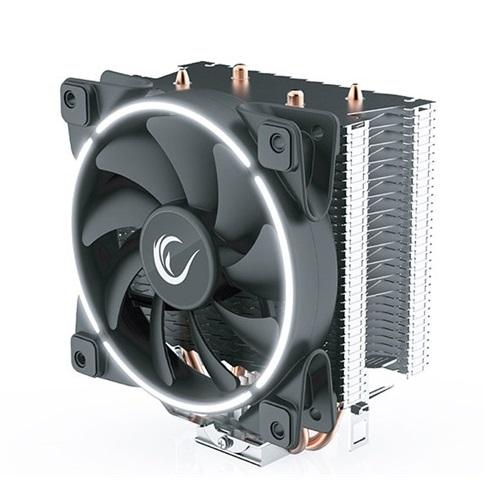 Rampage CPU Cooler - ICEBERG LIGHT (Socket AM4 / LGA115x; 2 db heatpipe, 12cm)