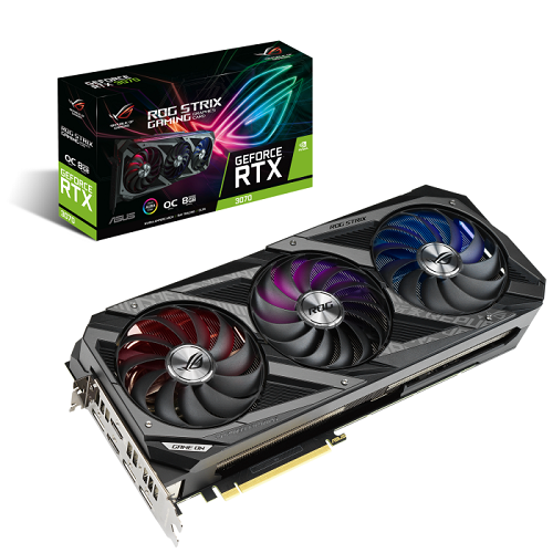 Asus GeForce RTX 3070 8GB - ROG-STRIX-RTX3070-O8G-GAMING - 3év garancia