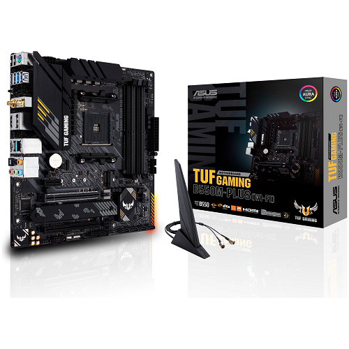ASUS TUF GAMING B550M-PLUS - WiFi - 3 év garancia