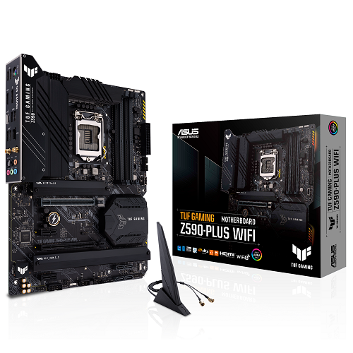ASUS TUF GAMING Z590-PLUS WIFI - 3év garancia
