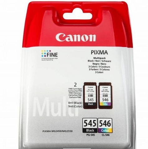 Canon PG-545 fekete+ Canon 546 Color Multipack