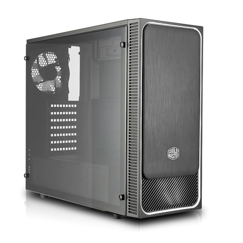 Cooler Master Midi - MasterBox E500L Silver - Side Window Panel - MCB-E500L-KA5N-S02