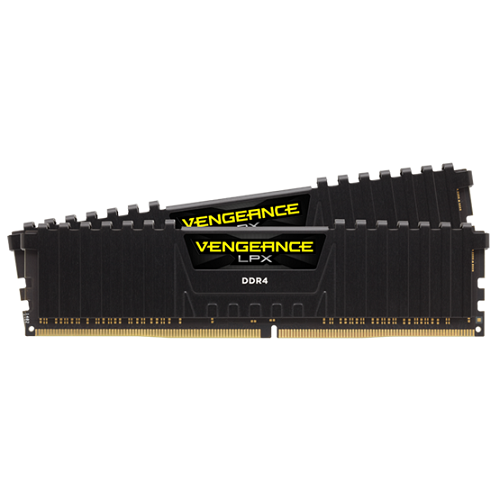 Corsair DDR4 3000MHz 32GB (2x16GB) kit Vengeance LPX Black CL15 - 3 év garancia