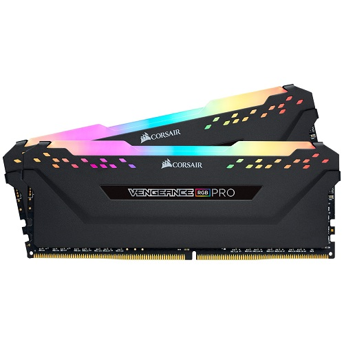 Corsair DDR4 2666MHz 32GB (2x16GB) kit Vengeance RGB PRO Black CL16 - 3 év garancia
