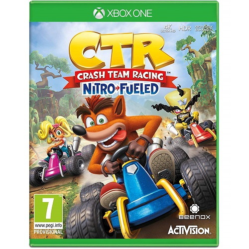 Crash Team Racing Nitro-Fueled Xbox One játékszoftver