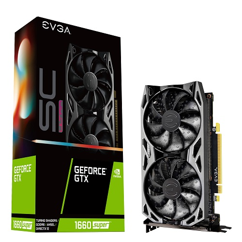 EVGA NVIDIA GTX1660 SUPER 6GB - GeForce GTX 1660 SUPER SC ULTRA GAMING - 3 év garancia