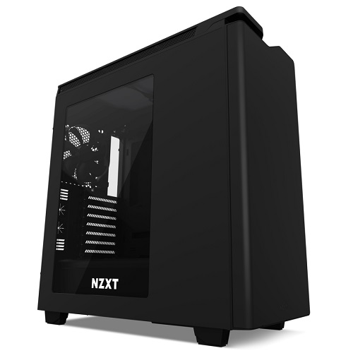 NZXT Mid Tower Fekete - H440 - CA-H442W-M8