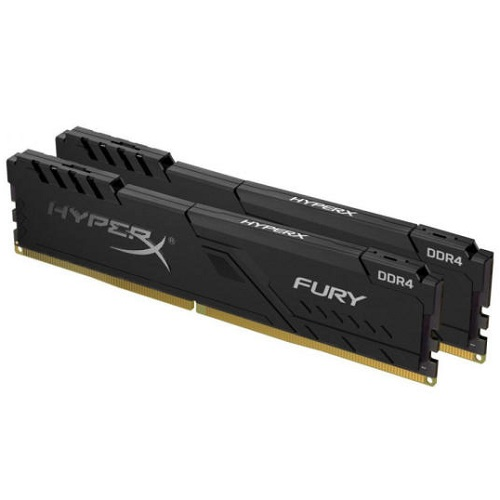 Kingston 16GB/3466MHz DDR4 HyperX FURY fekete (KIT 2x8GB) (HX434C16FB3K2/16) memória