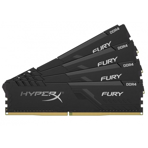 Kingston 32GB/3466MHz DDR4 HyperX FURY fekete (KIT 4x8GB) (HX434C16FB3K4/32) memória