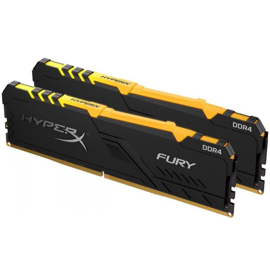 Kingston 16GB/3466MHz DDR4 HyperX FURY RGB (KIT 2x8GB) (HX434C16FB3AK2/16) memória