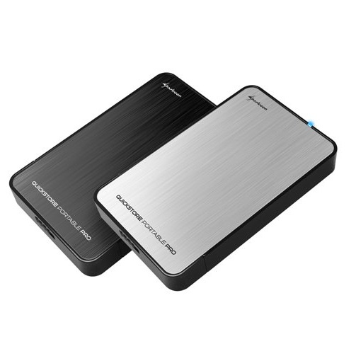 Sharkoon Külső HDD Ház 2.5'' - QuickStore Portable Pro U3,USB3.0
