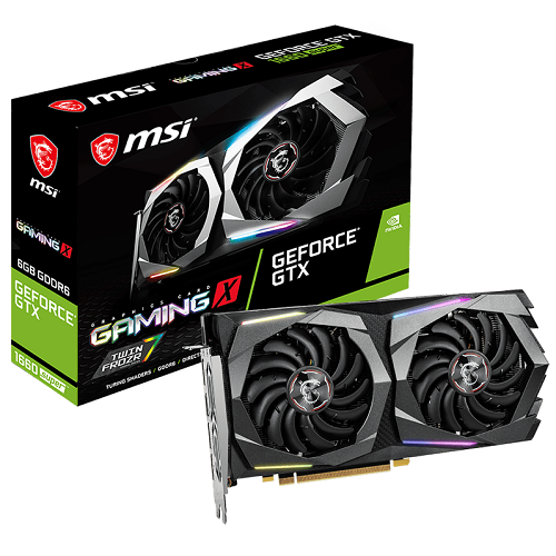 MSI GTX 1660 SUPER 6GB GDDR6 - GAMING X - 3 év garancia