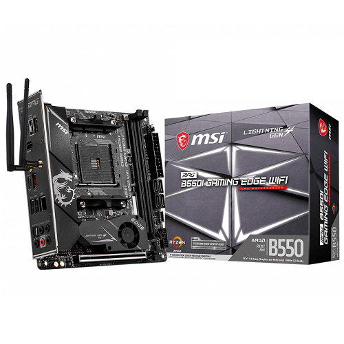 MSI MPG B550I GAMING EDGE WIFI - 3 év garancia