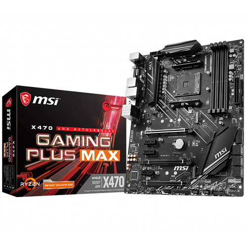 MSI X470 GAMING PLUS MAX - 3év garancia