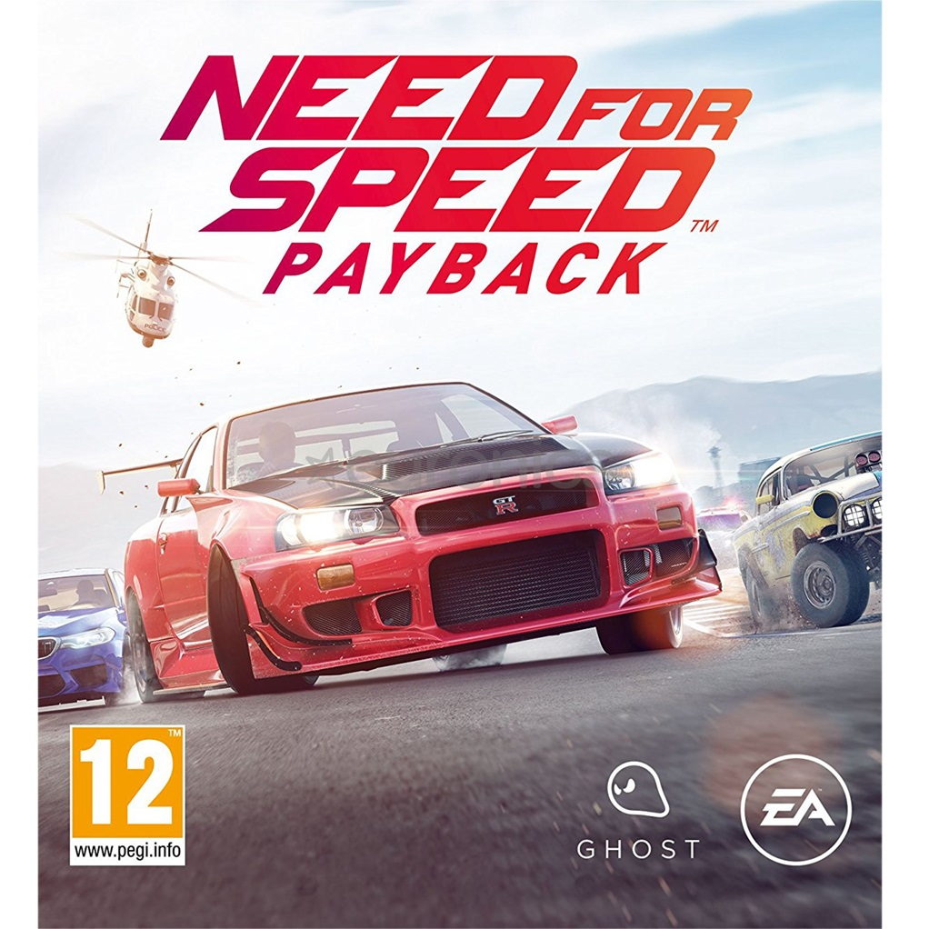 NEED FOR SPEED PAYBACK PC játékszoftver