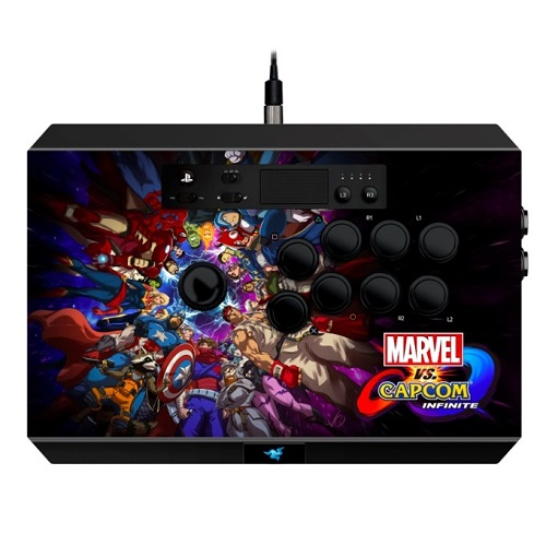 Razer Panthera Arcade Marvel vs Capcom Infinity Edition PS4 stick kontroller