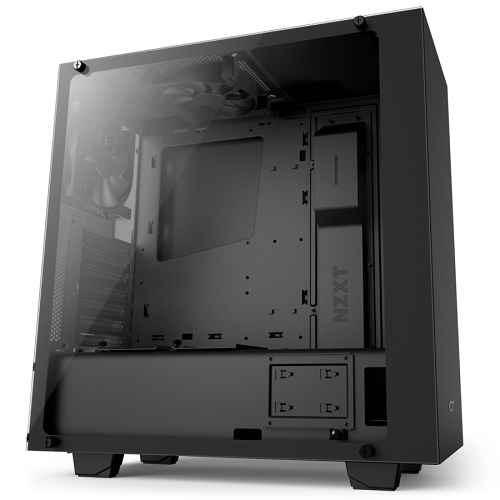 NZXT Mid Tower Elite fekete - S340 - CA-S340E-BP