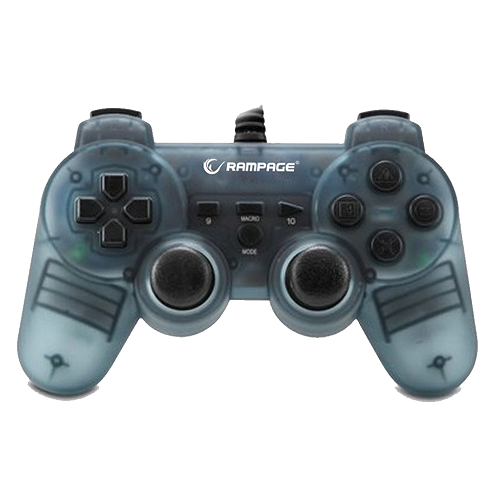Rampage Gamepad - SG-R606 (USB, 1,8m kábel, PC ÉS PS3 kompatibilis)