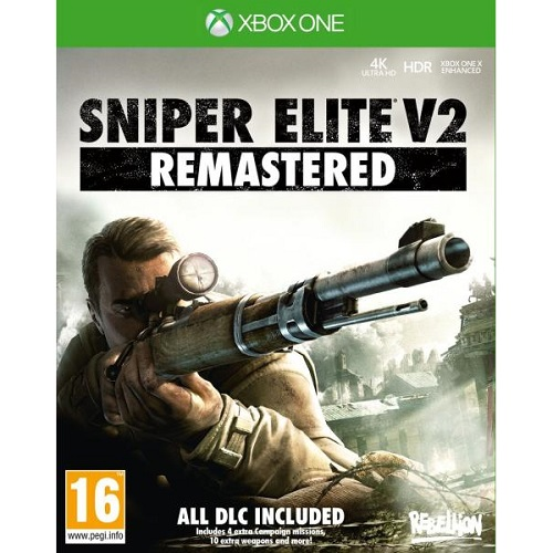 Sniper Elite v2 Remastered XBOX One játékszoftver
