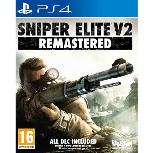 Sniper Elite v2 Remastered PS4 játékszoftver