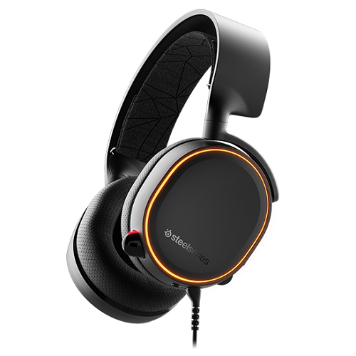 SteelSeries Arctis 5 fekete gamer headset