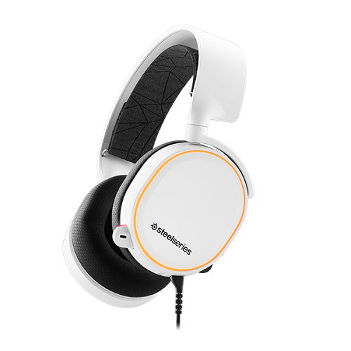 SteelSeries Arctis 5 fehér gamer headset