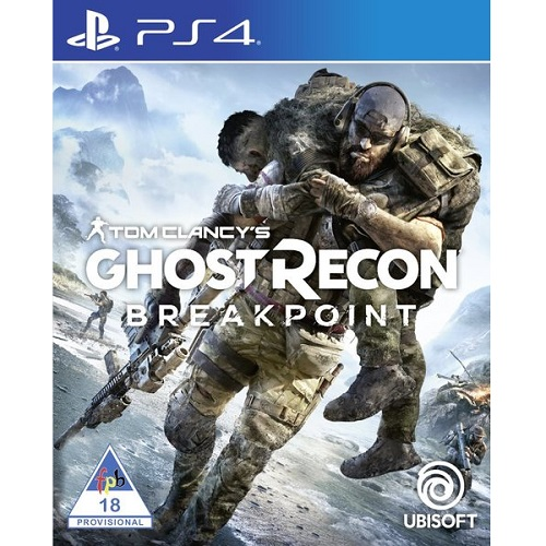 Tom Clancy`s Ghost Recon Breakpoint PS4 játékszoftver