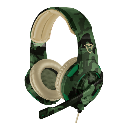 Trust GXT 310C Radius jungle camo gamer headset - 22207 - 2 év garancia