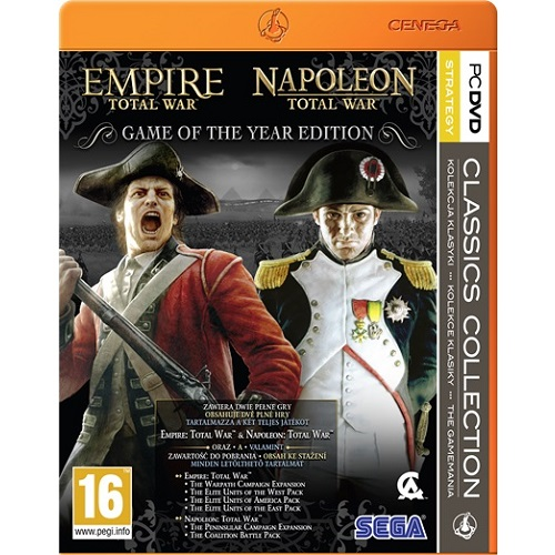 Total War: Empire + Napoleon Classic Collection PC játékszoftver