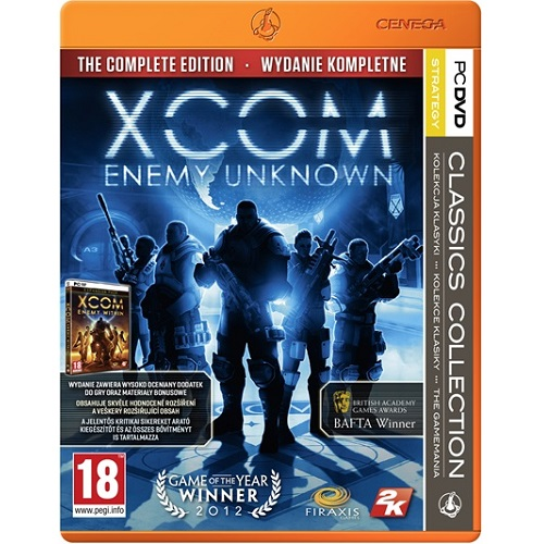 XCOM Enemy Unknown Complete Edition Classic Collection PC játékszoftver